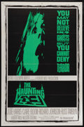 """Movie Posters:Horror, The Haunting (MGM, 1963). One Sheet (27"""" X 41""""). Horror. Directedby Robert Wise. Starring Julie Harris, Claire Bloom, Richa..."""
