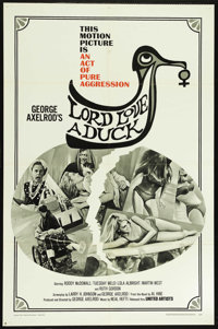 """Lord Love a Duck (United Artists, 1966). One Sheet (27"""" X 41""""). Comedy. Directed by George Axelrod. Starring R..."""