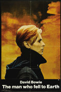 "Movie Posters:Science Fiction, The Man Who Fell to Earth (Cinema 5, 1976). One Sheet (27"" X 41""). Science Fiction. Directed by Nicolas Roeg. Starring David..."