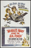 """Movie Posters:Comedy, McHale's Navy Joins the Air Force (Universal, 1965). One Sheet (27"""" X 41""""). Comedy. Directed by Edward J. Montagne Jr. Starr..."""