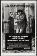 "Movie Posters:Academy Award Winner, Midnight Cowboy (United Artists, R-1980). One Sheet (27"" X 41"").Drama. Directed by John Schlesinger. Starring Dustin Hoffma..."
