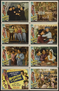 "Moonlight and Cactus (Universal, 1944). Lobby Card Set of 8 (11"" X 14""). Musical Comedy. Directed by Edward F..."