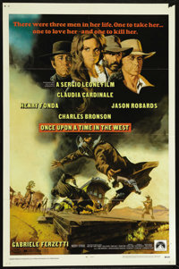 """Once Upon A Time in the West (Paramount, 1969). One Sheet (27"""" X 41""""). Western. Directed by Sergio Leone. Star..."""