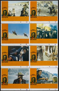 "Movie Posters:Western, The Outlaw Josey Wales (Warner Brothers, 1976). Lobby Card Set of 8(11"" X 14""). Western. Directed by Clint Eastwood. Starri... (Total:8 Items)"