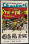 """Movie Posters:Adventure, Prince Valiant (20th Century Fox, 1954). One Sheet (27"""" X 41"""").Adventure. Directed by Henry Hathaway. Starring James Mason,..."""