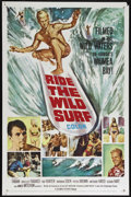 """Movie Posters:Sports, Ride the Wild Surf (Columbia, 1964). One Sheet (27"""" X 41""""). Comedy. Directed by William Castle and Don Taylor. Starrring Fab..."""