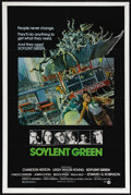 """Movie Posters:Science Fiction, Soylent Green (MGM, 1973). One Sheet (27"""" X 41""""). Science Fiction.Directed by Richard Fleischer. Starring Charlton Heston, ..."""