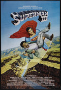 "Movie Posters:Adventure, Superman III (Warner Brothers, 1983). One Sheet (27"" X 41""). ComicBook Adventure. Directed by Richard Lester. Starring Chri..."