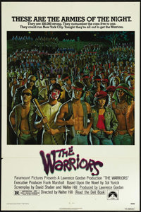 "The Warriors (Allied Artists, 1955). One Sheet (27"" X 41""). Action Thriller. Directed by Walter Hill. Starring..."