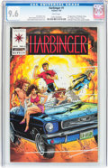 Modern Age (1980-Present):Superhero, Harbinger #1 (Valiant, 1992) CGC NM+ 9.6 White pages....