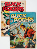 Golden Age (1938-1955):Science Fiction, Buck Rogers #1 and 6 Group (Eastern Color, 1940-43).... (Total: 2Comic Books)