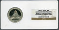 Expositions and Fairs, 1893 World's Columbian Exposition, Administration Building, PR63Ultra Cameo NGC. Eglit-54. 50mm. White metal. Illinois....