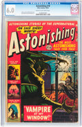 Golden Age (1938-1955):Horror, Astonishing #18 (Atlas, 1952) CGC FN 6.0 Cream to off-whitepages....