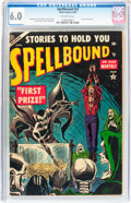 Golden Age (1938-1955):Horror, Spellbound #23 (Atlas, 1954) CGC FN 6.0 Off-white pages....