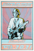 Music Memorabilia:Posters, Stevie Ray Vaughan and Double Trouble Steamboat Springs ConcertPoster (1981)....