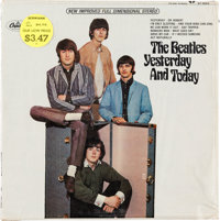 Beatles Yesterday And Today 2nd State Butcher Cover Stereo LP (Capitol ST 2553, 1966).</