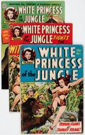 Golden Age (1938-1955):Adventure, White Princess of the Jungle #1, 2, and 5 Group (Avon, 1951-52)Condition: Average GD/VG.... (Total: 3 Comic Books)