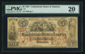 Confederate Notes:1861 Issues, T31 $5 1861 PF-2 Cr. 245.. ...