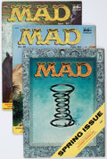 Magazines:Mad, Mad Group (EC, 1956-57) Condition: Average FN-.... (Total: 8 Items)