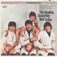"Beatles Yesterday And Today First State Stereo ""Butcher"" Cover (Capitol ST-2553, 1966).<"