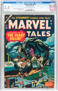 Golden Age (1938-1955):Horror, Marvel Tales #130 (Atlas, 1955) CGC VG- 3.5 Cream to off-whitepages....