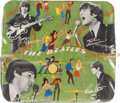 Music Memorabilia:Memorabilia, A German Beatles Pencil Case (Germany, 1965)....