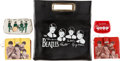 Music Memorabilia:Memorabilia, A Group of Beatles Vinyl Wallets and Purses (1960s)....
