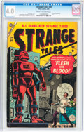 Golden Age (1938-1955):Horror, Strange Tales #34 (Atlas, 1955) CGC VG 4.0 Cream to off-whitepages....