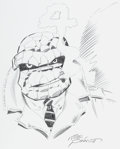 Original Comic Art:Sketches, Joe Sinnott - The Thing Sketch Original Art (undated)....
