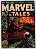 Golden Age (1938-1955):Horror, Marvel Tales #110 (Atlas, 1952) Condition: VG+....
