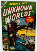 Golden Age (1938-1955):Horror, Journey Into Unknown Worlds #22 (Atlas, 1953) Condition: GD....