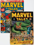 Golden Age (1938-1955):Horror, Marvel Tales #95 and 103 Group (Atlas, 1950-51) Condition: AverageFR/GD.... (Total: 2 Comic Books)