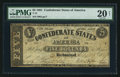 Confederate Notes:1861 Issues, T12 $5 1861 PF-1 Cr. 46.. ...