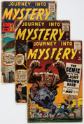 Golden Age (1938-1955):Horror, Journey Into Mystery Group of 4 (Marvel, 1959-62) Condition:Average FR.... (Total: 4 Comic Books)