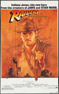 "Movie Posters:Adventure, Raiders of the Lost Ark (Paramount, 1981). Trimmed One Sheet (25.5"" X 40.5""). Adventure.. ..."