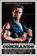 "Movie Posters:Action, Commando (20th Century Fox, 1985). One Sheet (27"" X 41""). Action....."