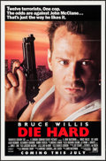"""Movie Posters:Action, Die Hard (20th Century Fox, 1988). One Sheet (27"""" X 41"""") Advance.Action.. ..."""
