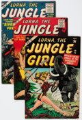 Golden Age (1938-1955):Adventure, Lorna The Jungle Girl Group of 5 (Atlas, 1954-57) Condition: FN+.... (Total: 5 Comic Books)