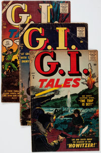 G. I. Tales #4-6 Complete Run Group (Atlas, 1957).... (Total: 3 Comic Books)