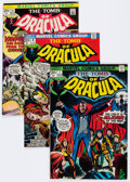 Bronze Age (1970-1979):Horror, Tomb of Dracula Group of 7 (Marvel, 1973-78) Condition: AverageVF.... (Total: 7 Comic Books)