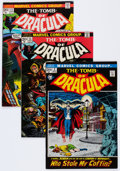 Bronze Age (1970-1979):Horror, Tomb of Dracula Group of 23 (Marvel, 1972-79) Condition: AverageFN.... (Total: 23 Comic Books)