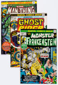 Bronze Age (1970-1979):Horror, Marvel Bronze Age Horror Comics Group of 49 (Marvel, 1970s)Condition: Average FN.... (Total: 49 Comic Books)
