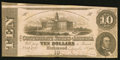 Confederate Notes:1862 Issues, T52 $10 1862 PF-1 Cr. 369.. ...