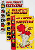 Silver Age (1956-1969):Humor, Hot Stuff Related File Copy Short Box Group (Harvey, 1961-74) Condition: Average NM-....