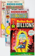 Bronze Age (1970-1979):Cartoon Character, Richie Rich Billions File Copies Box Lot (Harvey, 1974-82)Condition: Average NM-.... (Total: 89 Comic Books)