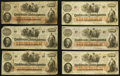 Confederate Notes:1862 Issues, T41 $100 1862 Twenty-one Examples.. ... (Total: 21 notes)