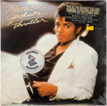 Music Memorabilia:Recordings, Michael Jackson Thriller Still Sealed LP (Epic 38112,1982)....