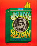 "Music Memorabilia:Posters, ""Joint Show"" Rick Griffin-Designed Event Poster (1969)...."