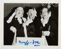 "Movie/TV Memorabilia:Autographs and Signed Items, The Three Stooges: ""Curly Joe"" DeRita Signed Photograph...."