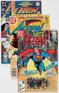 Modern Age (1980-Present):Superhero, Action Comics Box Lot (DC, 1978-96) Condition: Average NM-....(Total: 4 Box Lots)